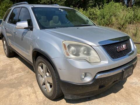 2009 GMC Acadia for sale at Peppard Autoplex in Nacogdoches TX