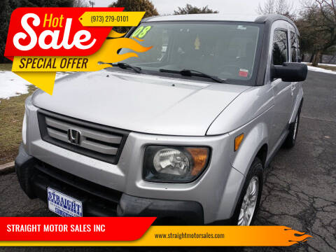 2008 Honda Element for sale at STRAIGHT MOTOR SALES INC in Paterson NJ