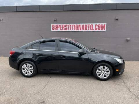 2012 Chevrolet Cruze for sale at Superstition Auto in Mesa AZ