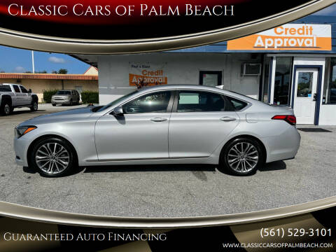 2016 Hyundai Genesis for sale at Classic Cars of Palm Beach in Jupiter FL