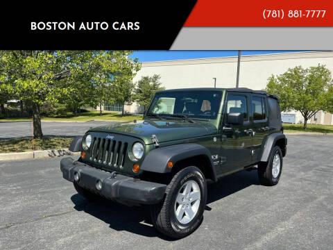 2008 Jeep Wrangler Unlimited for sale at Boston Auto Cars in Dedham MA