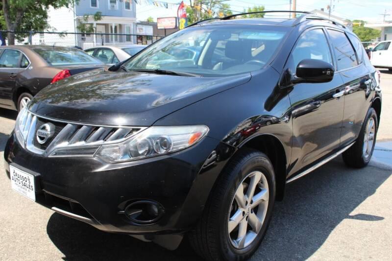 2010 Nissan Murano for sale at Grasso's Auto Sales in Providence RI