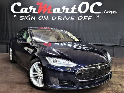 2015 Tesla Model S for sale at CarMart OC in Costa Mesa, Orange County CA