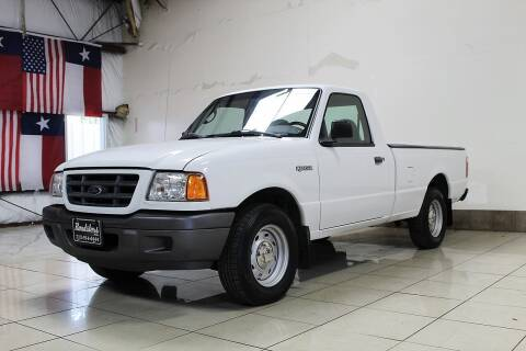 2003 Ford Ranger for sale at ROADSTERS AUTO in Houston TX