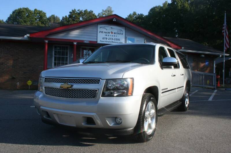 2014 Chevrolet Suburban for sale at Peach State Motors Inc in Acworth GA