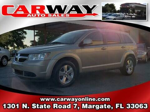 2009 Dodge Journey for sale at CARWAY Auto Sales in Margate FL