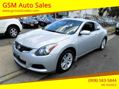 2013 Nissan Altima for sale at GSM Auto Sales in Linden NJ