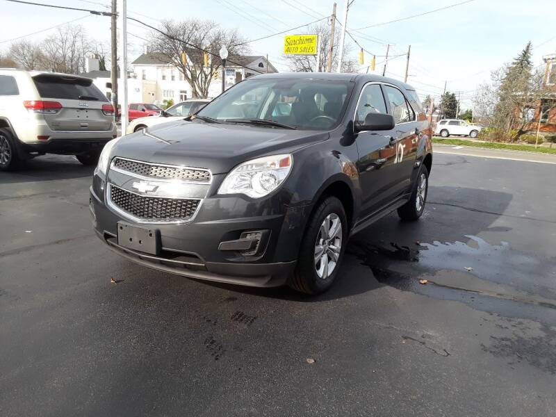 2013 Chevrolet Equinox for sale at Sarchione INC in Alliance OH