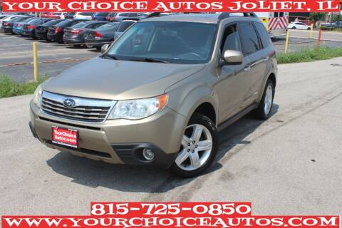 2009 Subaru Forester for sale at Your Choice Autos - Joliet in Joliet IL
