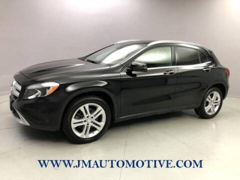 2017 Mercedes-Benz GLA for sale at J & M Automotive in Naugatuck CT