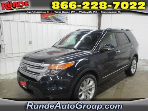 2014 Ford Explorer for sale at Runde Chevrolet in East Dubuque IL