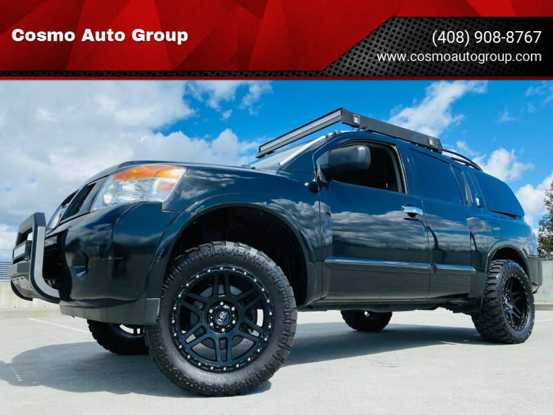 2015 Nissan Armada for sale at Cosmo Auto Group in San Jose CA