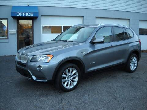 2014 BMW X3 for sale at Best Wheels Imports in Johnston RI