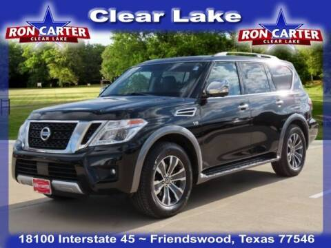 2018 Nissan Armada for sale at Ron Carter  Clear Lake Used Cars in Houston TX