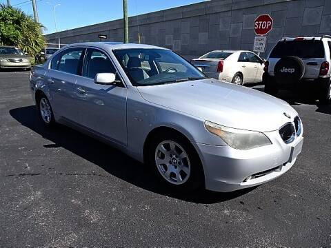 2004 BMW 5 Series for sale at DONNY MILLS AUTO SALES in Largo FL
