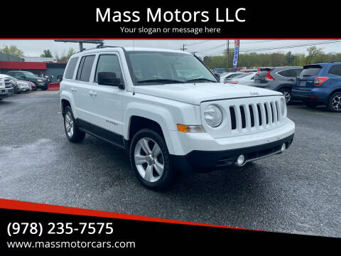 2014 Jeep Patriot for sale at Mass Motors LLC in Worcester MA