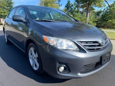 2013 Toyota Corolla for sale at LA 12 Motors in Durham NC