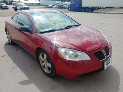 2007 Pontiac G6 for sale at BERG AUTO MALL & TRUCKING INC in Beresford SD