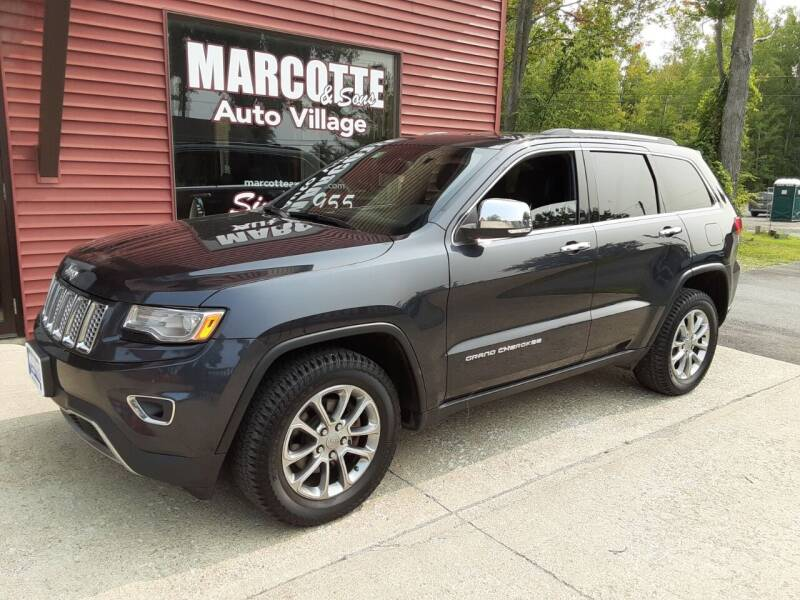 2015 Jeep Grand Cherokee for sale at Marcotte & Sons Auto Village in North Ferrisburgh VT
