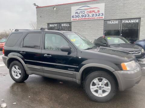 2001 Ford Escape for sale at Auto Deals in Roselle IL