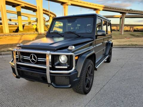 2016 Mercedes-Benz G-Class for sale at Image Auto Sales in Dallas TX