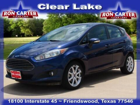 2016 Ford Fiesta for sale at Ron Carter  Clear Lake Used Cars in Houston TX