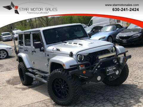 2007 Jeep Wrangler Unlimited for sale at Star Motor Sales in Downers Grove IL