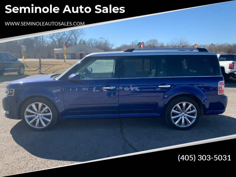 2013 Ford Flex for sale at Seminole Auto Sales in Seminole OK