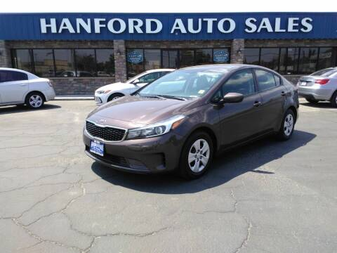 2018 Kia Forte for sale at Hanford Auto Sales in Hanford CA
