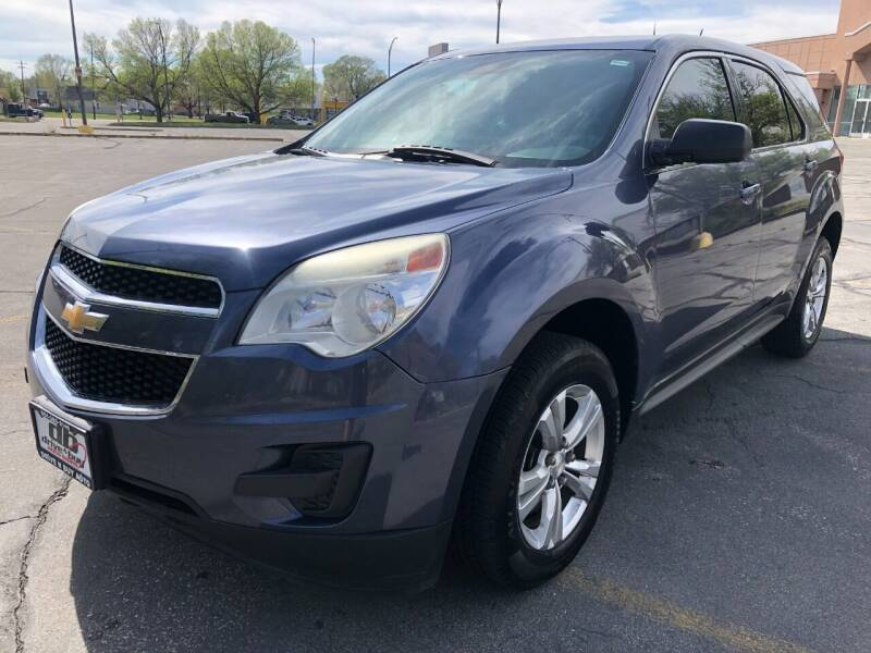 2013 Chevrolet Equinox for sale at DRIVE N BUY AUTO SALES in Ogden UT