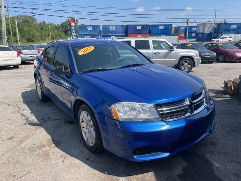 2012 Dodge Avenger for sale at I57 Group Auto Sales in Country Club Hills IL