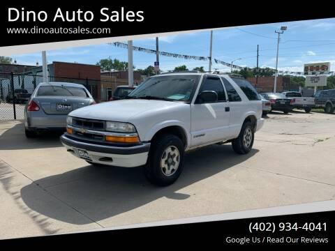 2001 Chevrolet Blazer for sale at Dino Auto Sales in Omaha NE