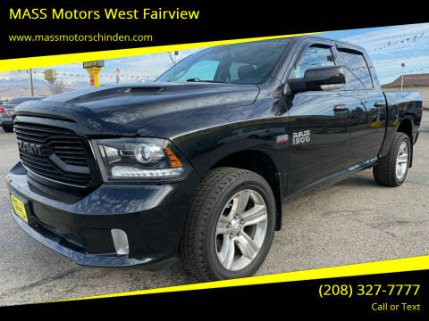 2018 RAM Ram Pickup 1500 for sale at M.A.S.S. Motors - West Fairview in Boise ID