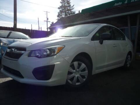 2012 Subaru Impreza for sale at Sindibad Auto Sale, LLC in Englewood CO