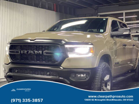 2020 RAM Ram Pickup 1500 for sale at CLEARPATHPRO AUTO in Milwaukie OR