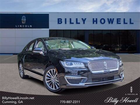 2018 Lincoln MKZ for sale at BILLY HOWELL FORD LINCOLN in Cumming GA