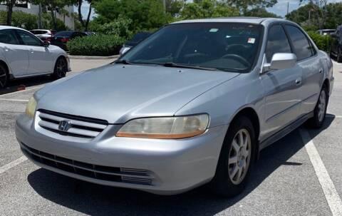 2002 Honda Accord for sale at Cobalt Cars in Atlanta GA