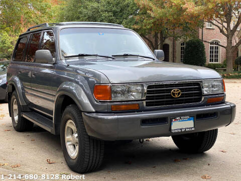 1996 Toyota Land Cruiser for sale at Mr. Old Car in Dallas TX