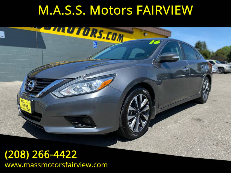 2016 Nissan Altima for sale at M.A.S.S. Motors - Fairview in Boise ID