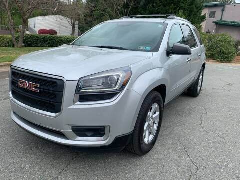 2014 GMC Acadia for sale at Triangle Motors Inc in Raleigh NC