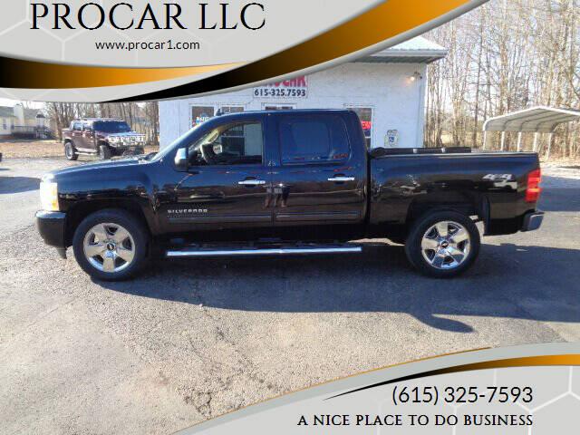 2010 Chevrolet Silverado 1500 for sale at PROCAR LLC in Portland TN