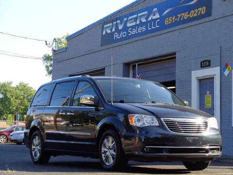 2013 Chrysler Town and Country for sale at Rivera Auto Sales LLC in Saint Paul MN