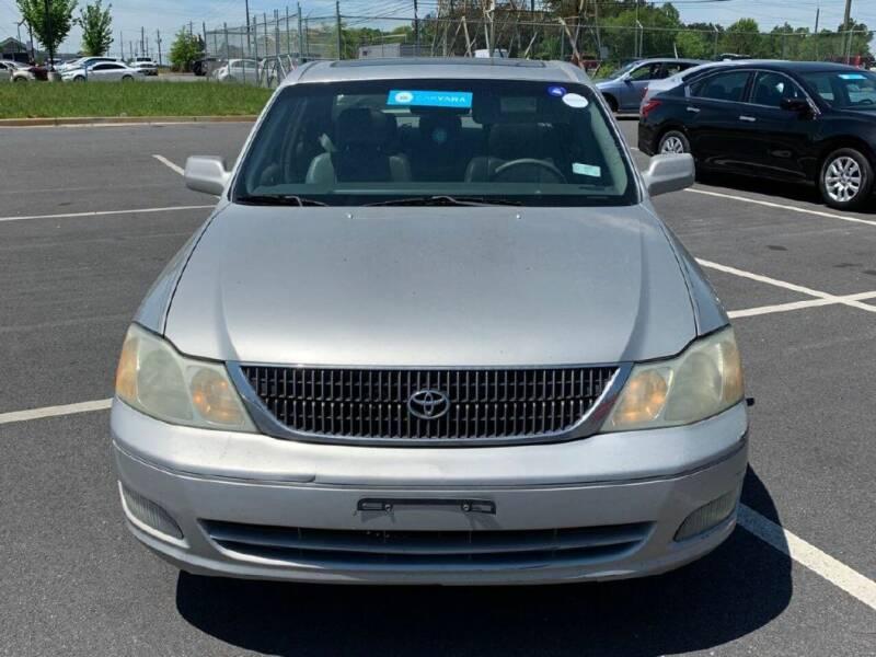 2002 Toyota Avalon for sale at Cobalt Cars in Atlanta GA