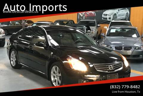 2007 Nissan Maxima for sale at Auto Imports in Houston TX