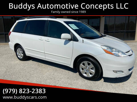 2008 Toyota Sienna for sale at Buddys Automotive Concepts LLC in Bryan TX