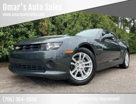 2014 Chevrolet Camaro for sale at Omar's Auto Sales in Martinez GA