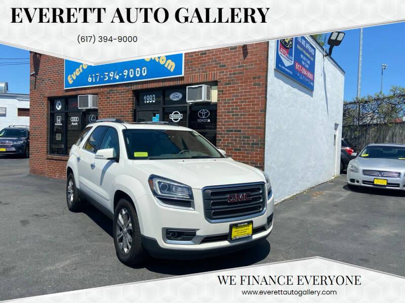 2015 GMC Acadia for sale at Everett Auto Gallery in Everett MA