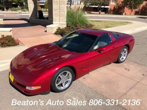 2000 Chevrolet Corvette for sale at Beaton's Auto Sales in Amarillo TX