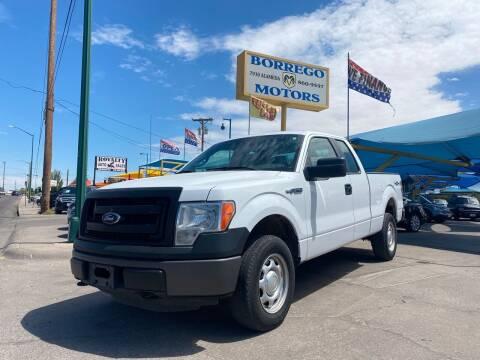 2014 Ford F-150 for sale at Borrego Motors in El Paso TX