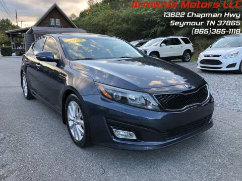 2015 Kia Optima for sale at Armenia Motors in Seymour TN